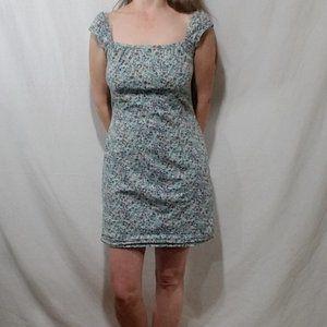 SMW floral print mini dress
